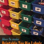 How To Make Printable Labels For Toy Storage Bins | The Best Of   Free Printable Labels For Storage Bins