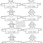 How To Make Thanksgiving Place Cards   Kids Crafts & Activities   Free Printable Thanksgiving Place Cards To Color