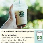 How To Order A Keto Frappuccino From Starbucks (Printable Card   Free Starbucks Coupon Printable