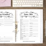 How To Put Together Your Perfect (Free) Wedding Binder (+ 42 Free   Free Wedding Binder Printables