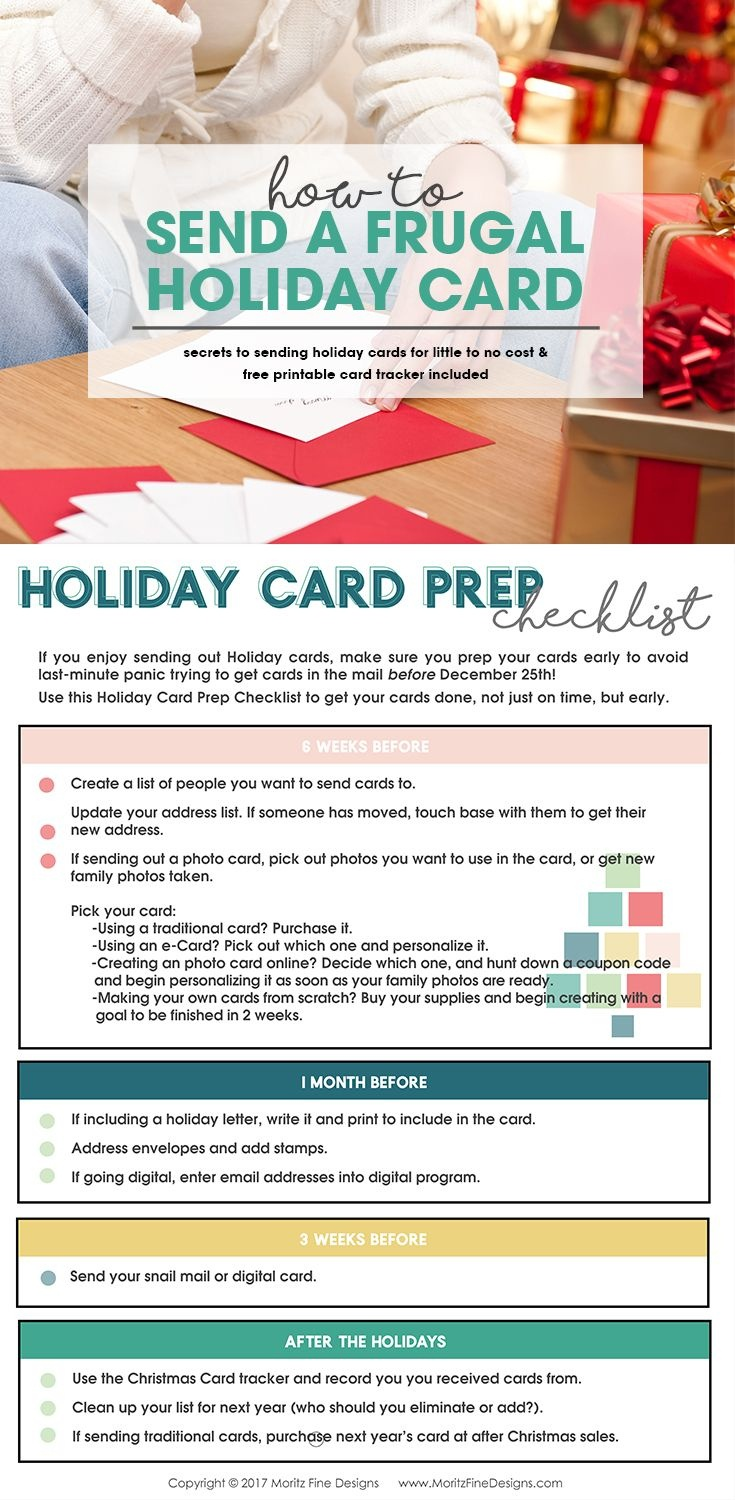 How To Send A Frugal Holiday Card | Christmas | Holiday Cards - Make A Holiday Card For Free Printable
