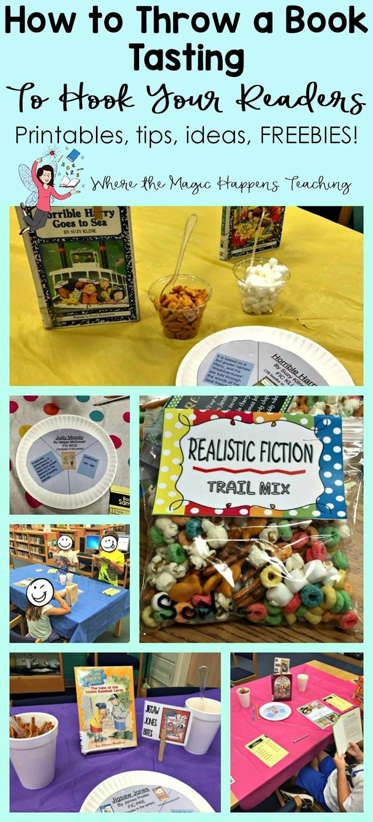 How To Throw A Book Tasting For 2Nd Graders | Where The Magic - Free Printable Level H Books