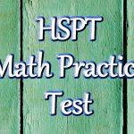 Hspt Math Practice Test (Updated 2019)   Free Printable Hspt Practice Test