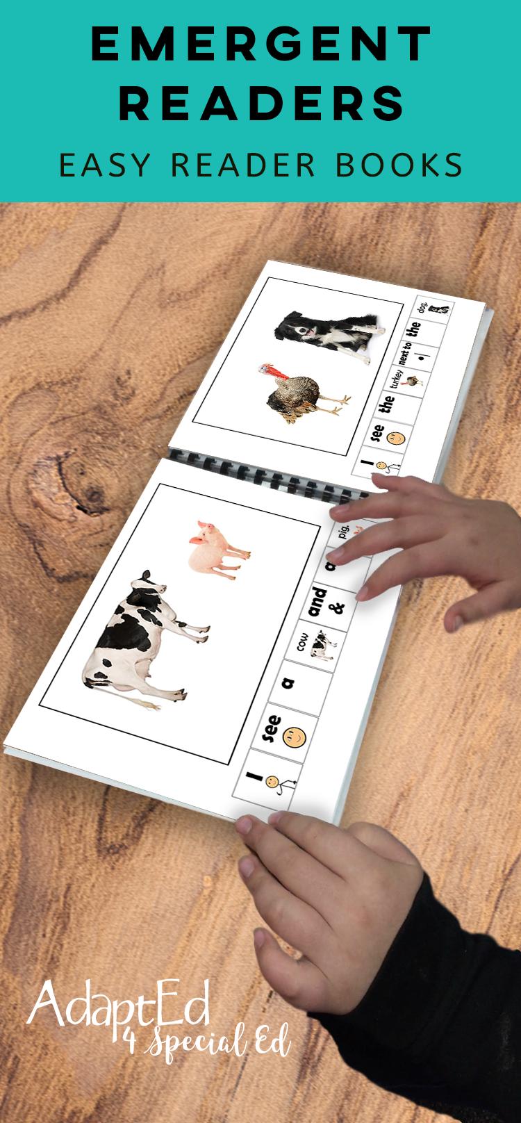 I See Animals 36 Book Set (Printable Pdf) Emergent Readers + - Free Adapted Books Printable