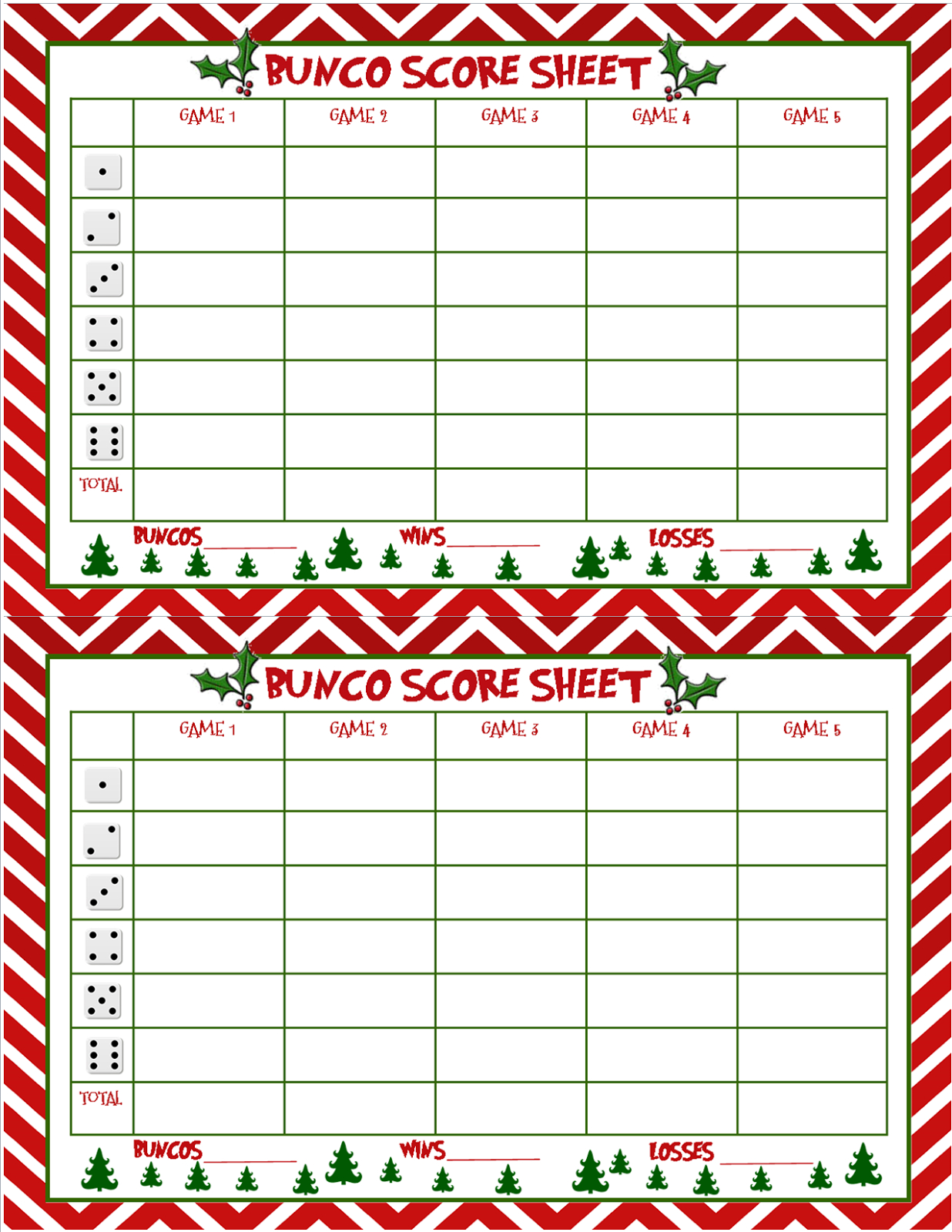 I Seemed To Have Skipped Making A Bunco Score Sheet For Thanksgiving - Free Printable Halloween Bunco Score Sheets