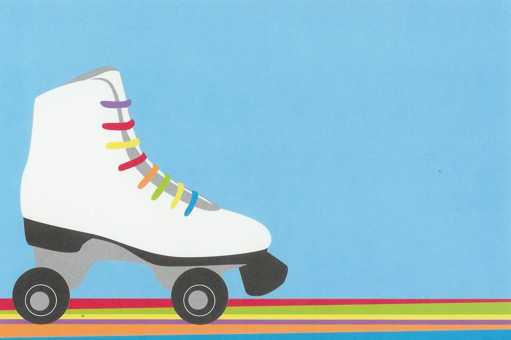 Ice Skating Party Invitations   Abigail's Roller Disco   Birthday - Free Printable Skating Invitations