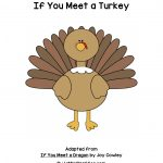 If You Meet A Turkey Printable Book | A To Z Teacher Stuff Printable   Thanksgiving Printable Books Free