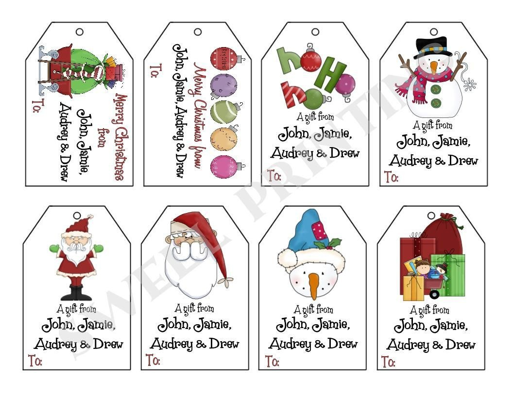 Image Result For Christmas Gift Tags Free Printable | Diy Christmas - Free Printable Gift Tags Personalized