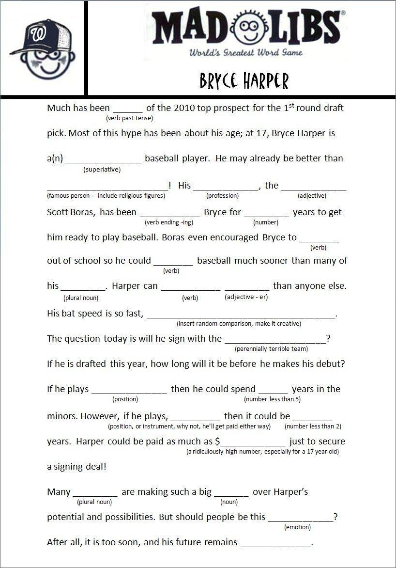 Image Result For Free Adult Mad Libs Funny   Job Related   Mad Libs - Mad Libs Online Printable Free