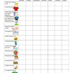 Image Result For Free Printable Behavior Charts For 6 Year Olds   Free Printable Chore And Behavior Charts