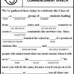 Image Result For Free Printable Graduation Mad Libs | Gatsby   Free Printable Graduation Party Games