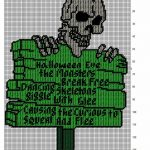 Image Result For Free Printable Plastic Canvas Patterns Skulls   Free Printable Plastic Canvas Patterns