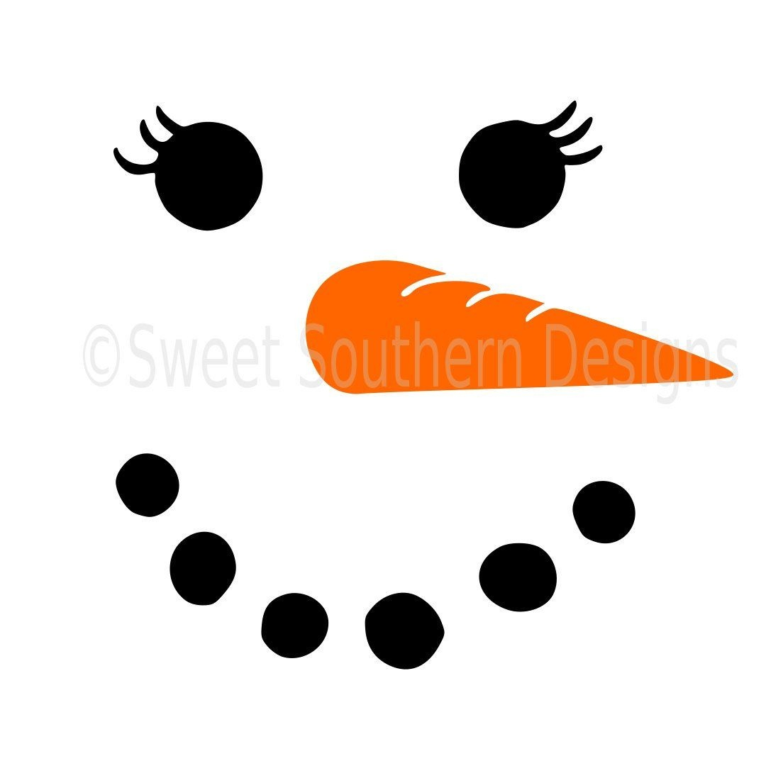 Image Result For Free Printable Snowman Face Template | Christmas - Free Printable Snowman Face Stencils