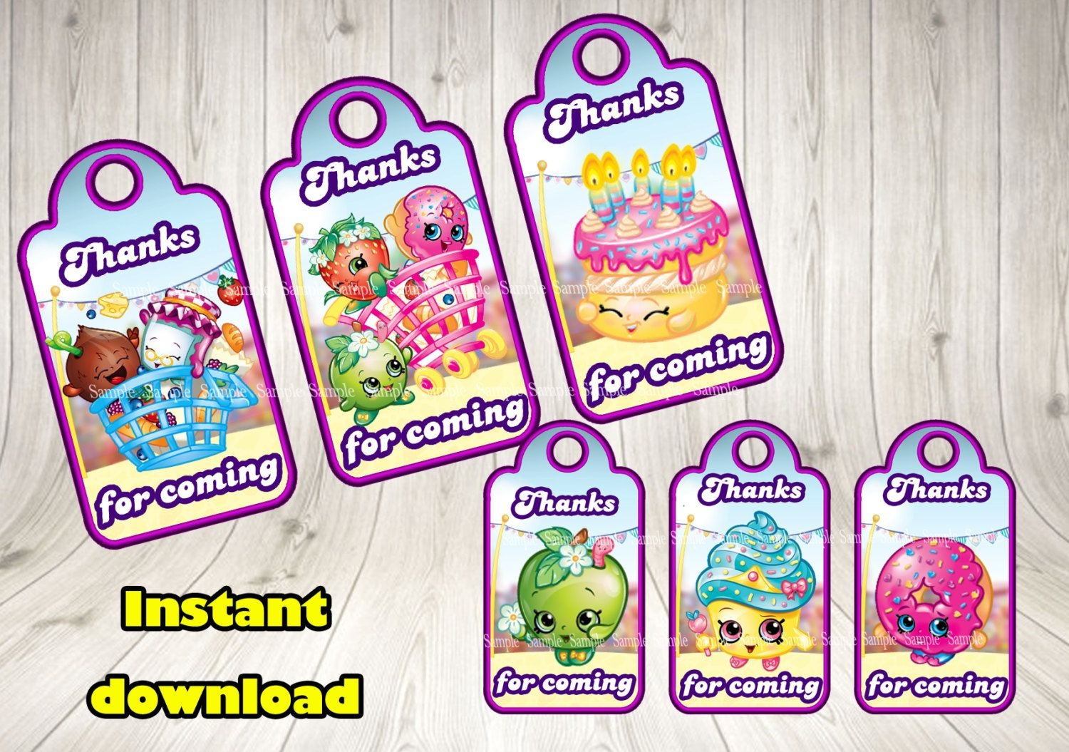 Image Result For Free Shopkins Birthday Printables | Shopkins - Free Shopkins Party Printables