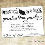 Image Result For Graduation Party Invitation Wording Ideas | Zach   Free Printable Graduation Invitations 2014
