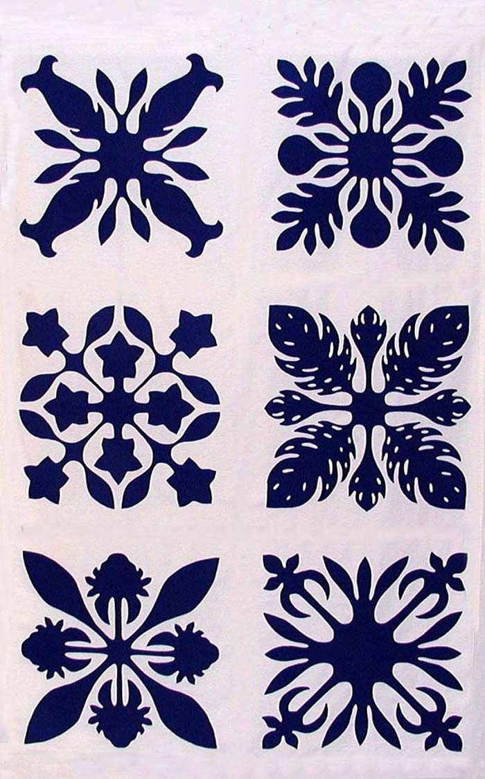 Image Result For Hawaiian Quilt Patterns Meaning   Quilts   Hawaiian - Free Printable Hawaiian Quilt Patterns