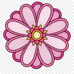 Imagination Pictures Of Flowers To Color Free Printables   Flower   Free Printable Clipart Of Flowers