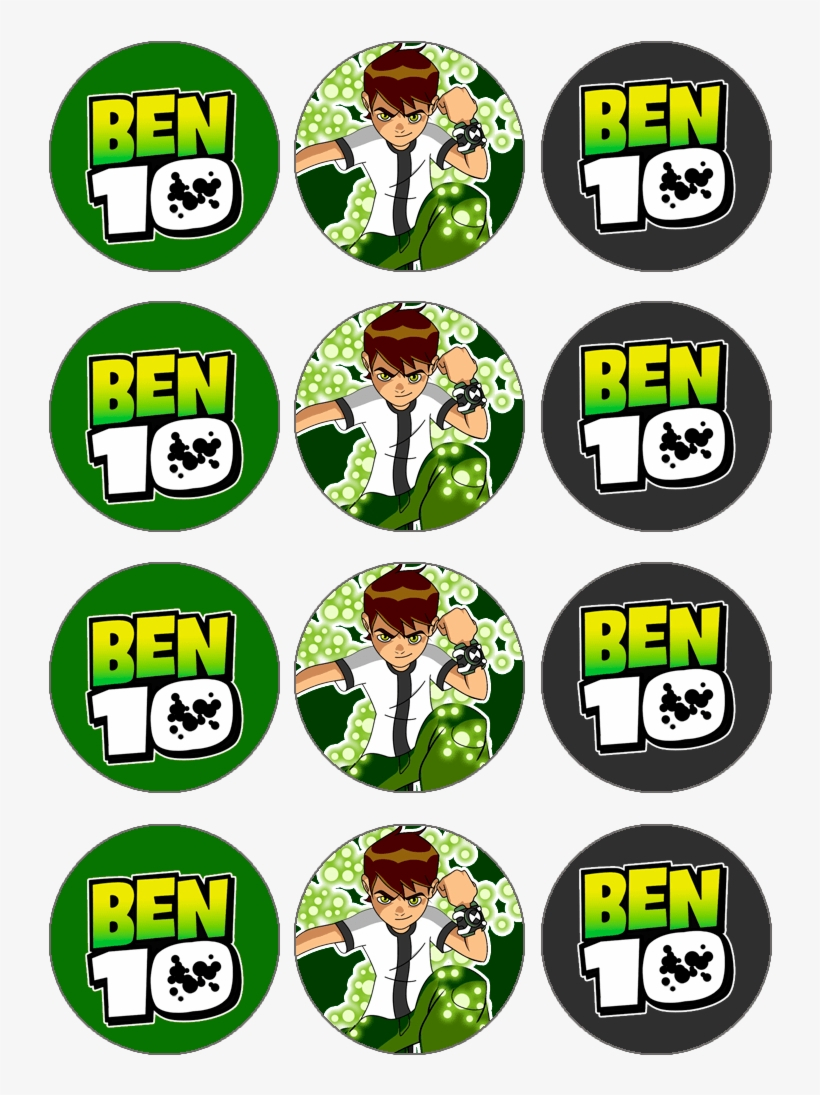 Imprimible De Ben 10 6 794×1,123 Pixels Ben - Ben 10 Cupcake Toppers - Free Printable Ben 10 Cupcake Toppers