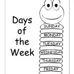 Insects Worksheets Free | Days Of The Week   Trace And Write   Free Printable Worm Worksheets