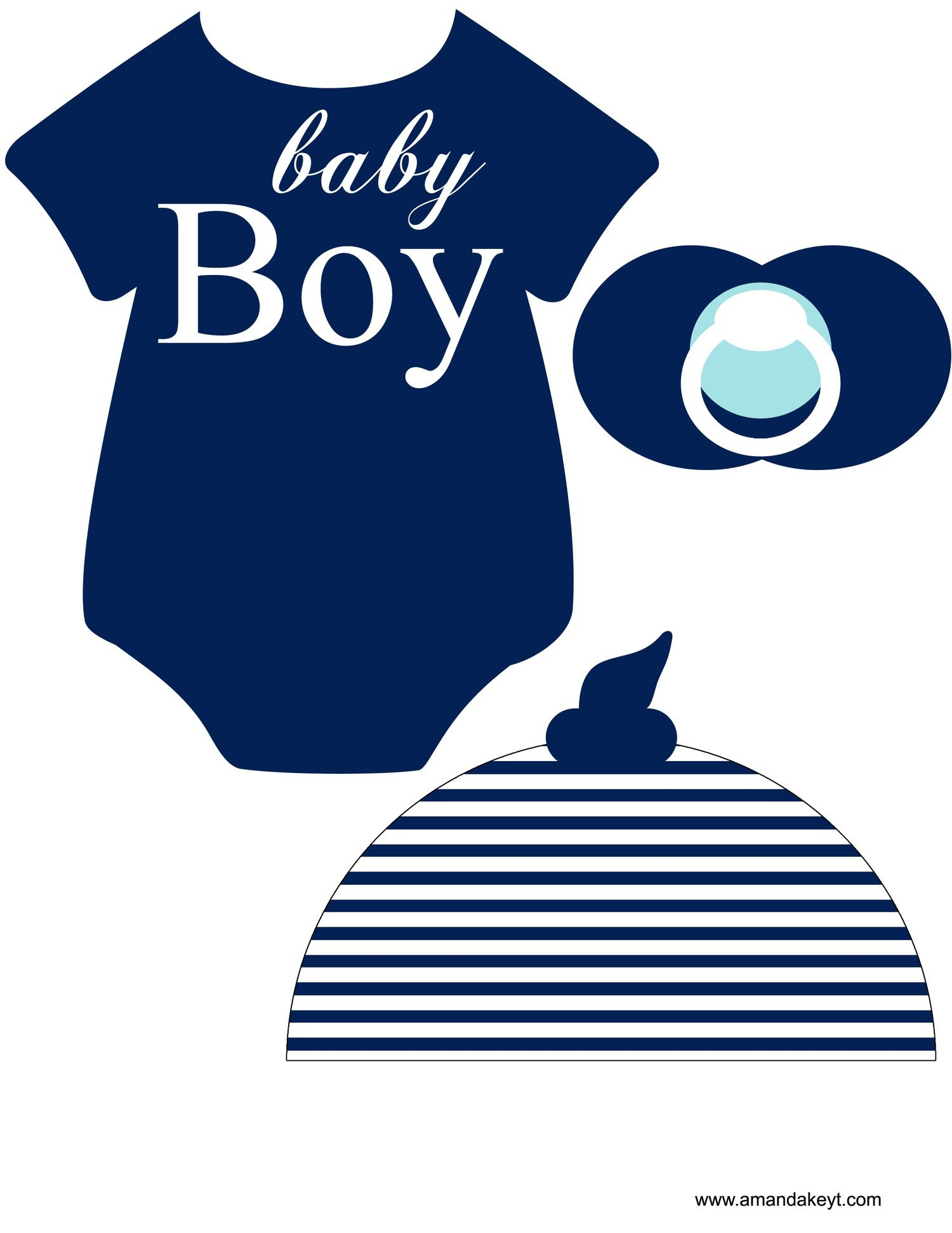 Instant Download Baby Nautical Navy Printable Photo Booth Prop Set - Free Printable Boy Baby Shower Photo Booth Props