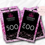 Instant Download Paparazzi Jewelry Reverse Live Sale Numbers   Free Printable Live Sale Numbers