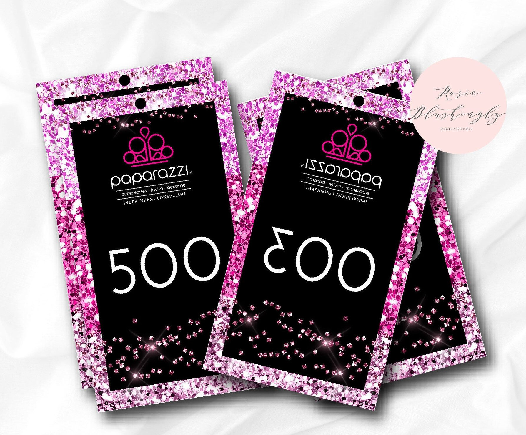 Instant Download Paparazzi Jewelry Reverse Live Sale Numbers - Free Printable Live Sale Numbers