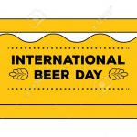 International Beer Day Concept As Admit One Ticket. Vector   Free Printable Beer Coupons