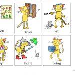 Irregular Verbs Flashcards Part 1 (From App Worksheet   Free Esl   Irregular Verbs Flashcards Printable Free