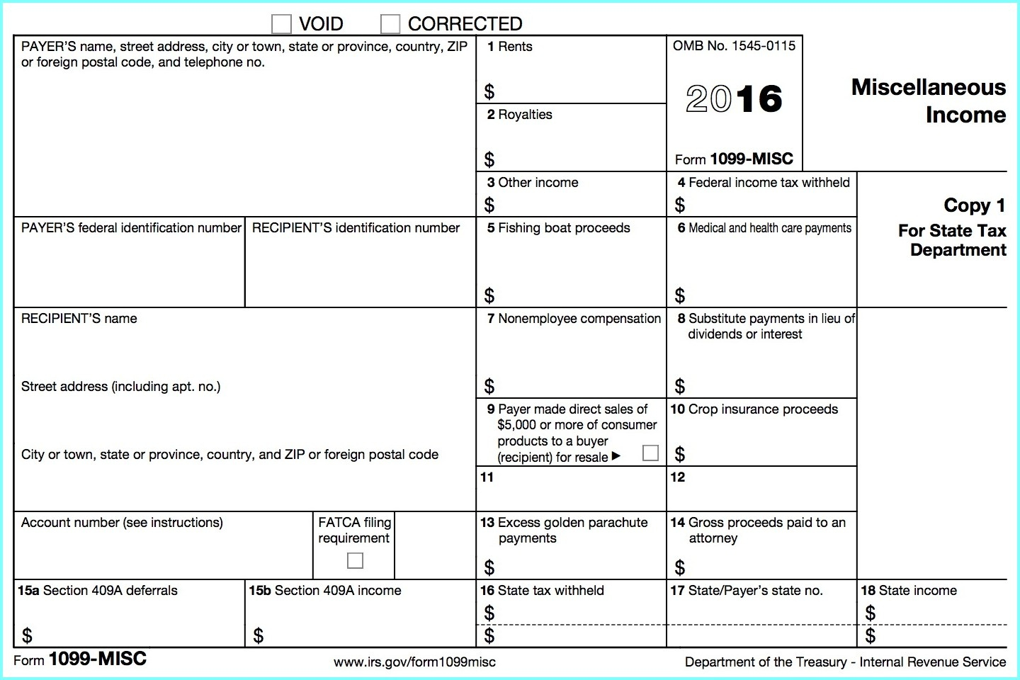 Irs Forms 1099 Order - Form : Resume Examples #bop4Ro530B - Free Printable 1099 Form 2016