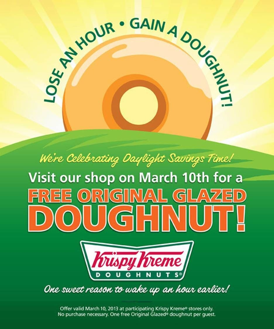 Is This For Real??? Yes Please!!! Free Glazed Doughnut On 3/10/13 - Free Printable Krispy Kreme Coupons