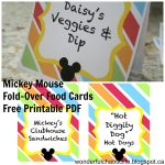 It's My Wonderful Chaotic Life: Mickey Mouse Birthday Party Free   Mickey Mouse Clubhouse Free Printables