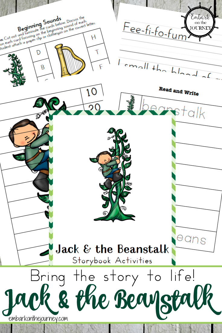 Jack And The Beanstalk Printables | Embark On The Journey Blog Posts - Jack And The Beanstalk Free Printable Activities