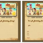 Jake And The Never Land Pirates Birthday Invitations | Birthday   Free Printable Jake And The Neverland Pirates Cupcake Toppers