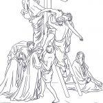 Jesus Stationen Des Kreuzes Ausmalbilder #ausmalbilder #jesus   Free Printable Good Friday Coloring Pages