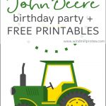 John Deere Birthday Party | Kids Parties | Windmill & Protea   Free Printable John Deere Birthday Invitations