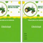 John Deere Free Printable Birthday Party Invitations | Birthday   Free Printable John Deere Birthday Invitations