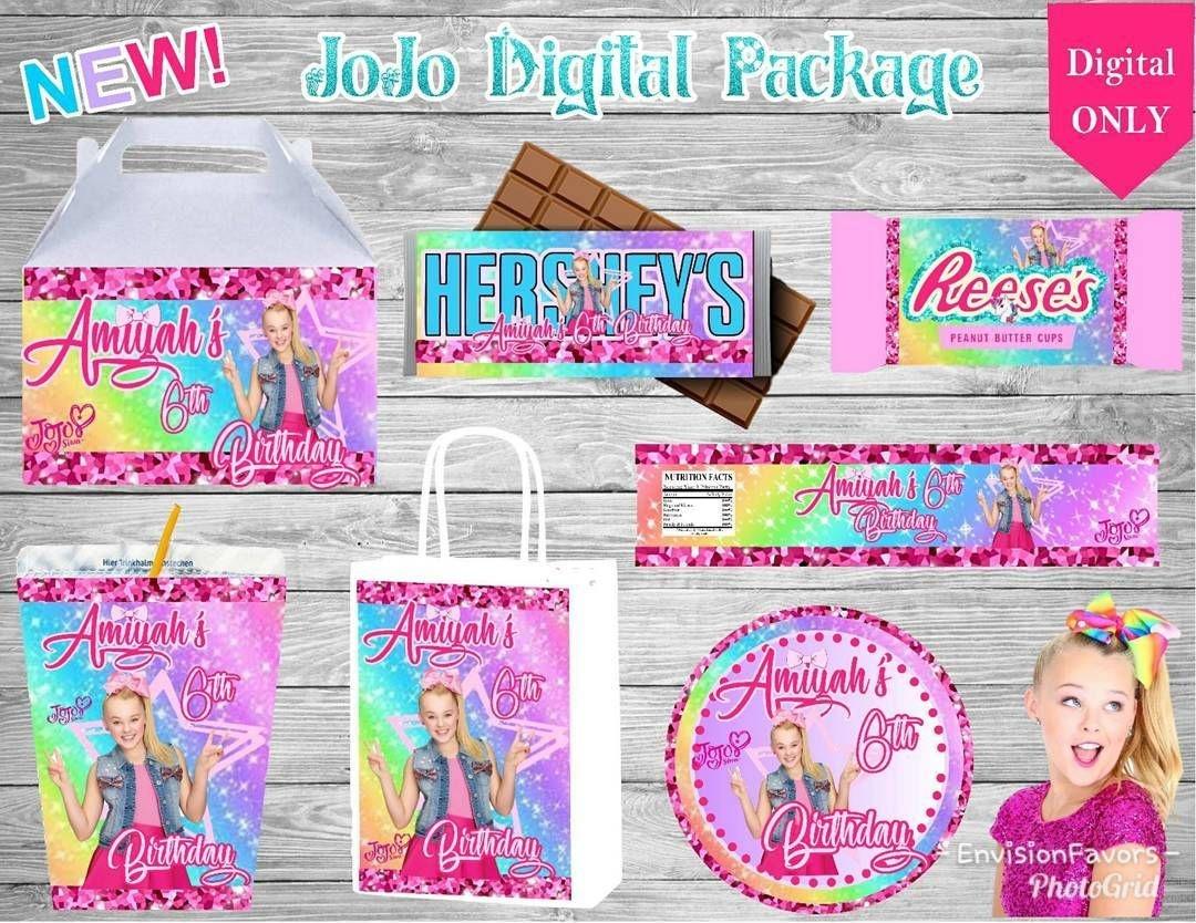 Jojo Siwa Birthday Party Ideas.   Alison's 7Th Bday   Jojo Siwa - Jojo Siwa Free Party Printables