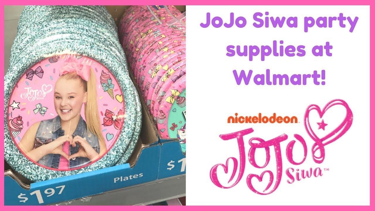 Jojo Siwa   Party Supplies! - Youtube - Jojo Siwa Free Party Printables