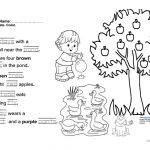 Jolly Phonics Book 3 Fun Final Test Worksheet   Free Esl Printable   Free Printable Phonics Books For Kindergarten