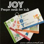 Joy Prayer Cards For Kids   Money Saving Mom® : Money Saving Mom®   Free Printable Prayer Cards For Children