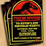 Jurassic World Dinosaur Party Planning Ideas & Supplies   Free Printable Jurassic World Invitations