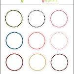 Kate: Free Digital Cupcake Pick Topper Template | Printables   Free Printable Cupcake Toppers Bridal Shower