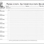 Keeping Track Of Medications {Free Printable Chart}   Flanders   Free Printable Medication Chart