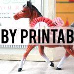 Kentucky Derby Printables | The Polka Dot Chair   Free Kentucky Derby Printables