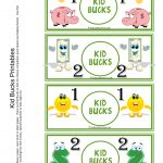 "Kid Bucks | Home ""behavior Banking"" | Chores For Kids, Kids Rewards   Free Printable Chore Bucks"