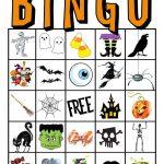 Kids Halloween Party Bingo Cards Free Printable | Classroom Parent   Free Printable Halloween Bingo