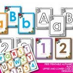 Kindergarten Alphabet Cards | Free Printable Alphabet Mini Flash   Free Printable Flash Cards