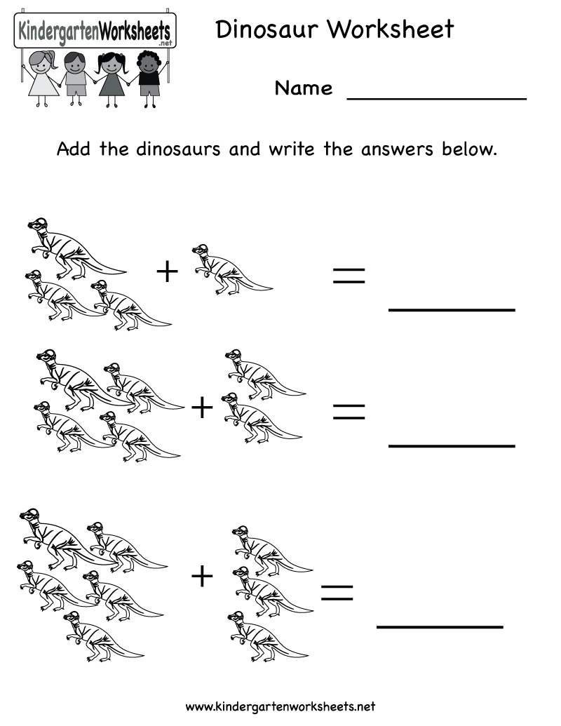 Kindergarten Dinosaur Worksheet Printable | Occupational Therapy <3 - Free Printable Dinosaur Activities For Kindergarten