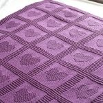Knitted Baby Blanket Patterns Free | Fromy Love Design : Knitted   Free Printable Knitting Patterns For Baby Blankets
