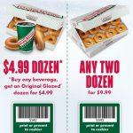 Krispy Kreme Coupon: Two Dozen Donuts For $9.99 Or One Dozen   Free Printable Krispy Kreme Coupons